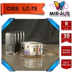 CISS for Brother  MFC-J6510DW LC77 LC75 LC73