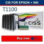 CISS עבור s55 EPSON Office T1100 73HN 103 זבוב-2008