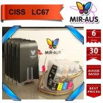 CISS FOR BROTHER LC67 MFC-J615W 