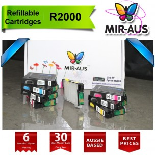 CISS , Refillable ink cartridge for EPSON R2000