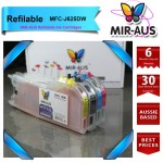 Refillable Ink Cartridges for Brother MFC-J625DW