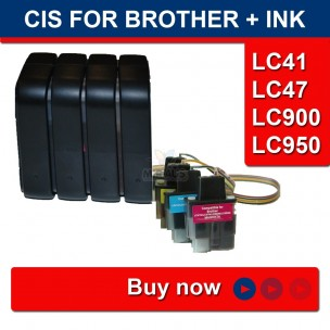 CISS BROTHER LC41 LC47 MBOX-V.2 OR FLY-V.3