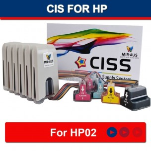 CISS FOR HP Photosmart C7180 7180 HP02 FLY-V.3