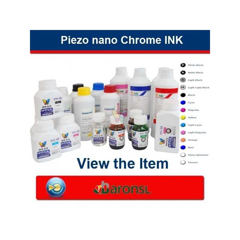Piezo nano Chrome INK ( BaronSL ) for Epson Printers