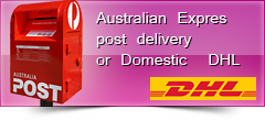DHL and AUSTRALIAN POST