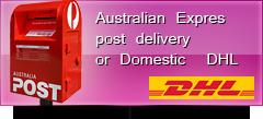 DHL and AUSTRALIAN POST