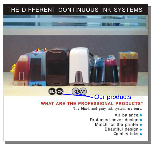 Continuous Ink Supply Systems