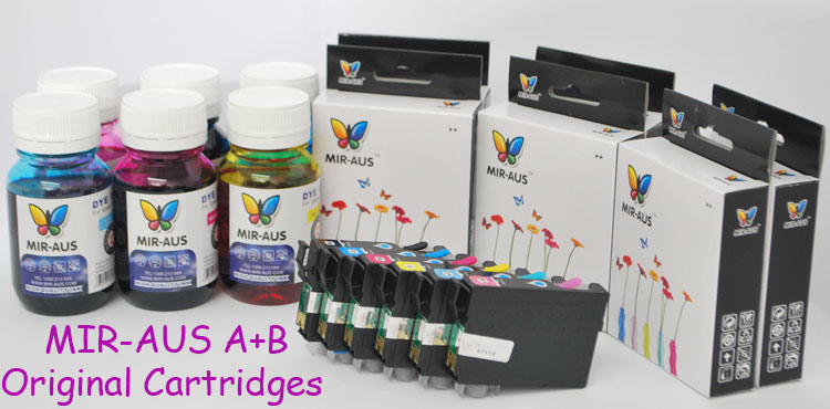 A+B Refillable Cartridges