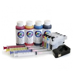 Refillable ink cartridges for DCP-J1100DW