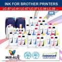 Recarga de tinta colorante para hermano