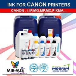 Recarga de tinta colorante para Canon