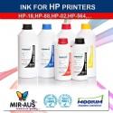Påfylde DYE INK til HP
