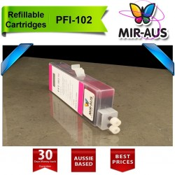 Refillable cartridges for Canon PFI-102