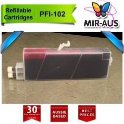 Cartuchos recarregáveis para Canon PFI-102