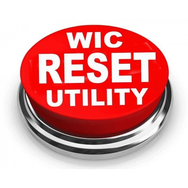 Waste Ink Counter reset utility for Windows