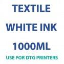 """טקסטיל לבן דיו 1000 מ""""ל למדפסות DTG"""