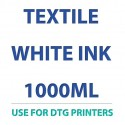 """النسيج """"الأبيض الحبر"""" 1000 مل للطابعات DTG"""