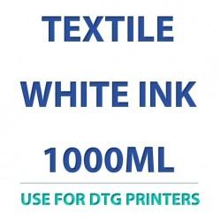 Têxtil 1000ml de tinta branca para impressoras do DTG