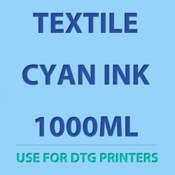 Textile White Ink 1000ml for DTG printers
