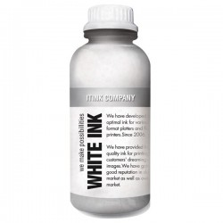 Tekstil tinta putih 1000ml untuk DTG printer