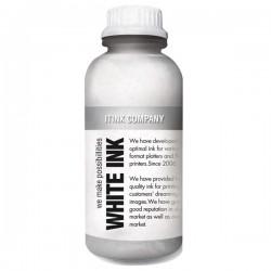 Textil vitt bläck 1000ml för DTG skrivare
