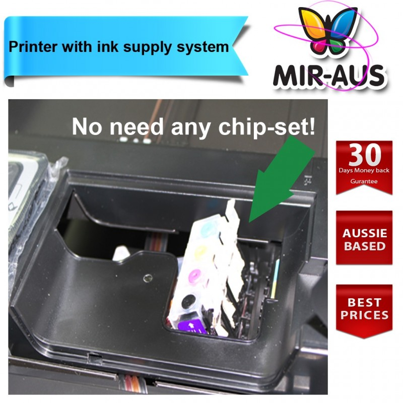 Printer Includes Ink Supply System