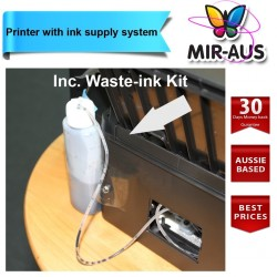 Printer with ink supply system
