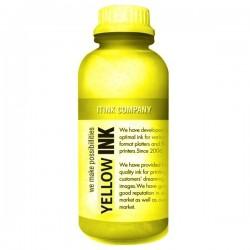 Textil gul tryckfärg 1000ml för DTG skrivare
