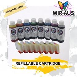 I9950 Cartouche rechargeable pour CANON pro 9000