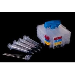 Refillable ink cartridges RICOH C21