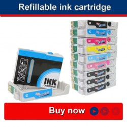 Refillable ink cartridge EPSON R2880 ( 9 colours )