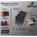 Sistem tinta pasokan cocok untuk saudara MFC-J4510DW