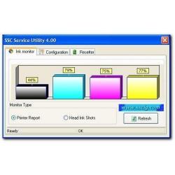 الأداة المساعدة لخدمة ال SSC لطابعات Epson إبرة الفونوغراف