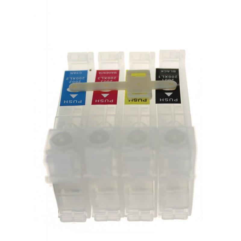 4 Colori Svuotare Ciss Cartucce Per Stampanti Epson