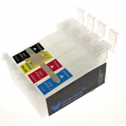 Empty CISS Cartridges for epson