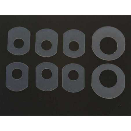 8 PCS Silicone Washer Seal Pad for HP or Canon CISS CIS