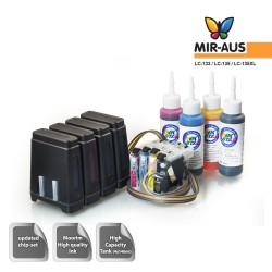 Sistema de abastecimento de tinta ternos irmão MFC-J870DW