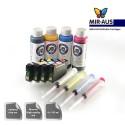 Refillable tinta cartridge tenaga kerja 625