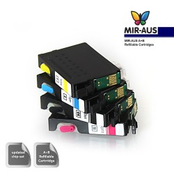 A+B Empty Refillable ink cartridge for Epson WorkForce WF-3530