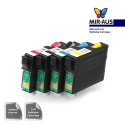 A+B Empty Refillable ink cartridge for Epson WorkForce WF-3520