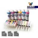 Trajes de cartuchos de tinta recargables Epson expresión foto XP-850 850
