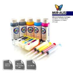 Refillable ink cartridges suits Epson Expression Photo XP-600 600