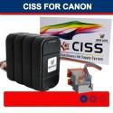 CISS PER CANON BCI-21BK 21 C BCI-24BK/24 C