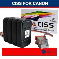 CISS של CANON BCI-21BK 21 C BCI-24BK/24 C