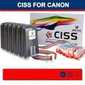 CISS של CANON IP6000D i900D i905D I9100