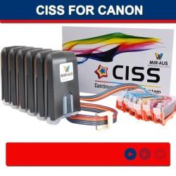CISS für CANON IP6000D i900D i905D I9100