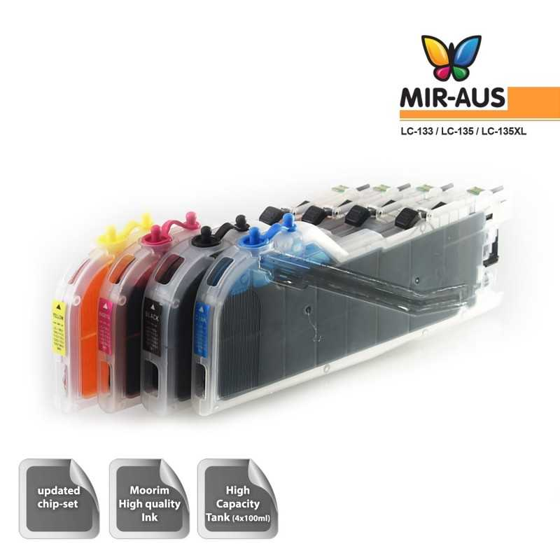 Refillable Ink Cartridges Suits Brother MFC-J4510DW