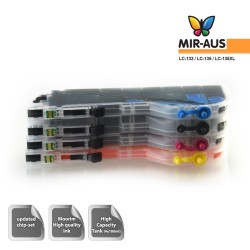Refillable Ink Cartridges Suits Brother MFC-J650DW