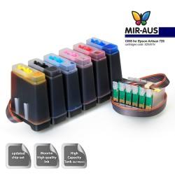 CIS para Epson Artisan 725 - sistema de abastecimento de tinta 82N