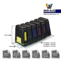 Sistema de abastecimento de tinta  CISS para CANON IP8760